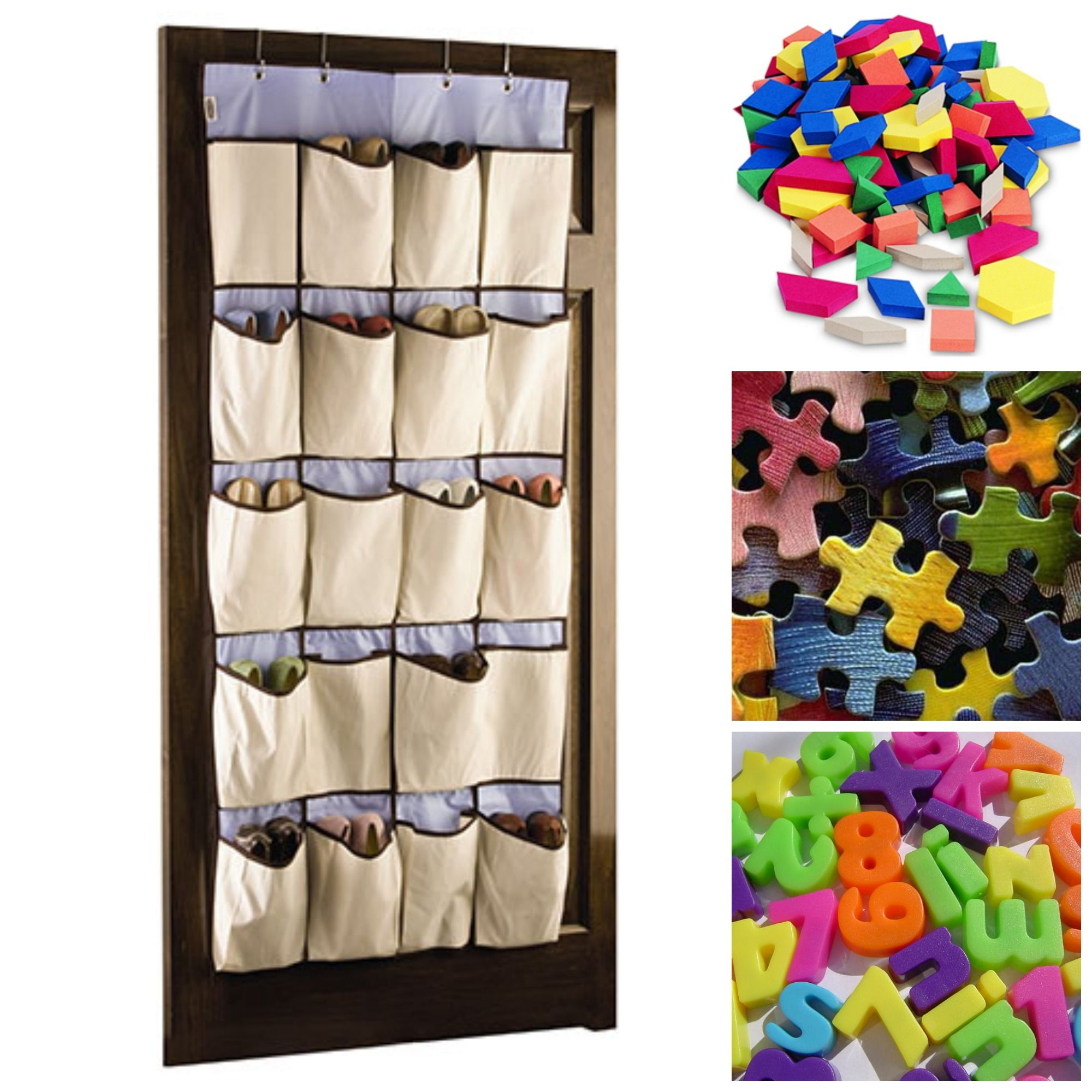 Clever Classroom Storage Solutions: Part 2 Hanging SHOE CADDIES are ...