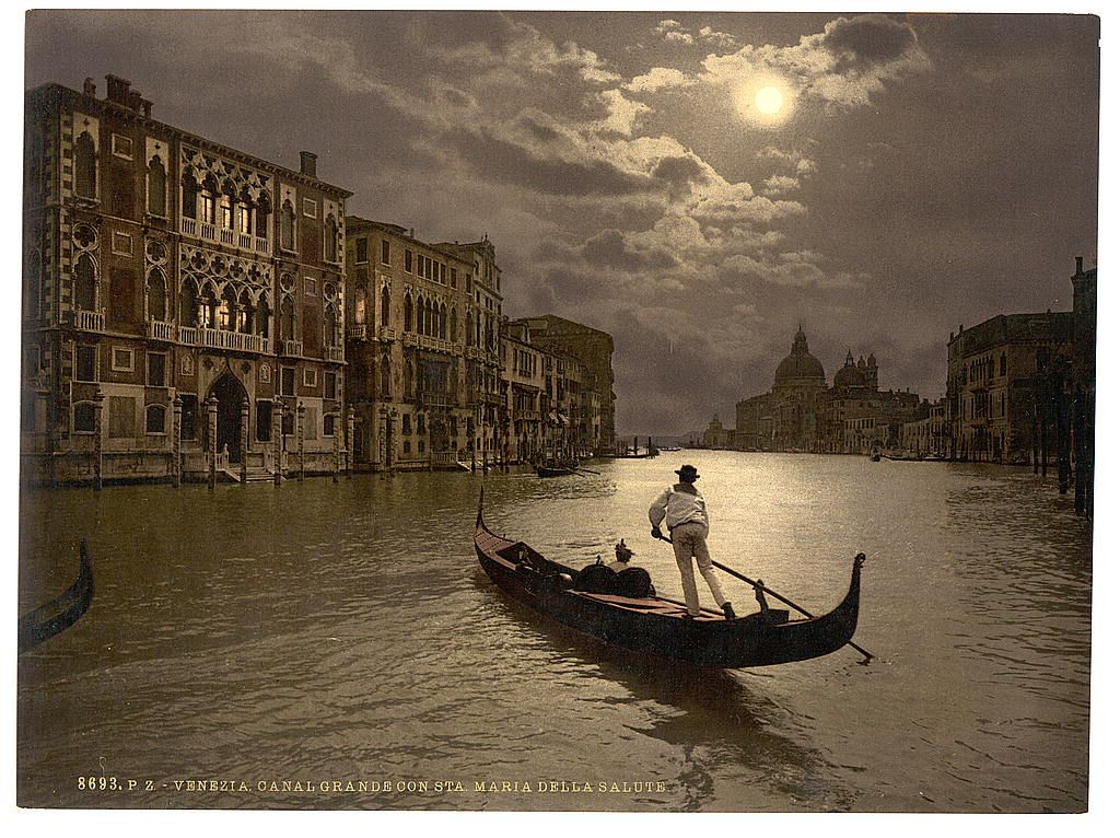 Colour photocroms of Venice, 1890s | Retronaut
