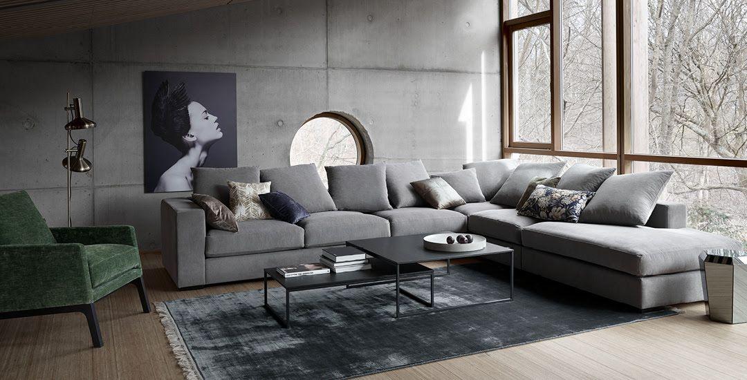 Design Bank 2 Zits Lugo.Metropolitan Moods Boconcept Home Furniture Boconcept