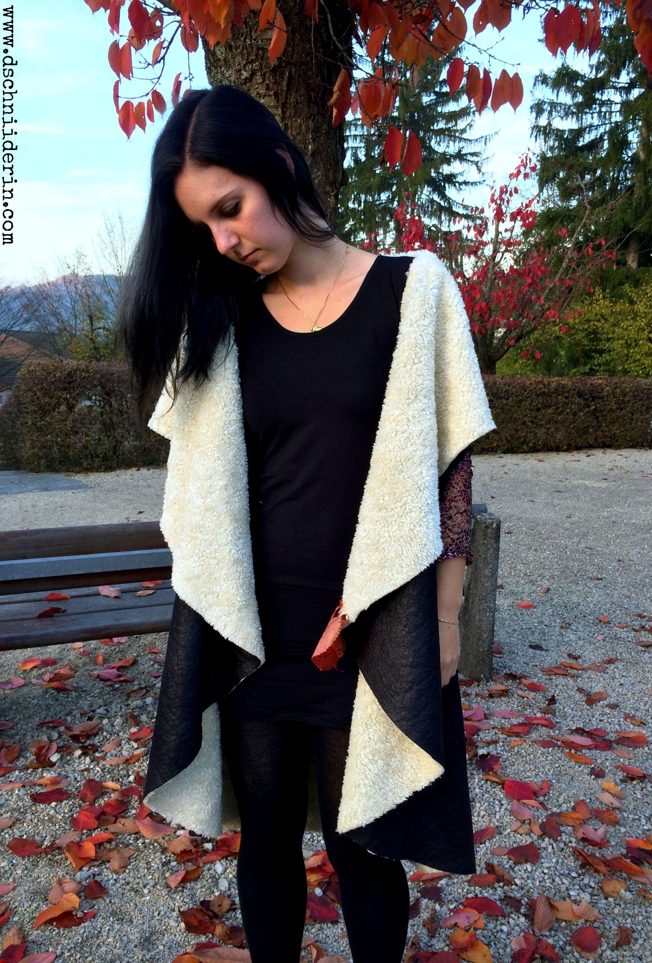 Mantel, kreis, Umhang ohne nähen | nähen - sewing | Pinterest ...