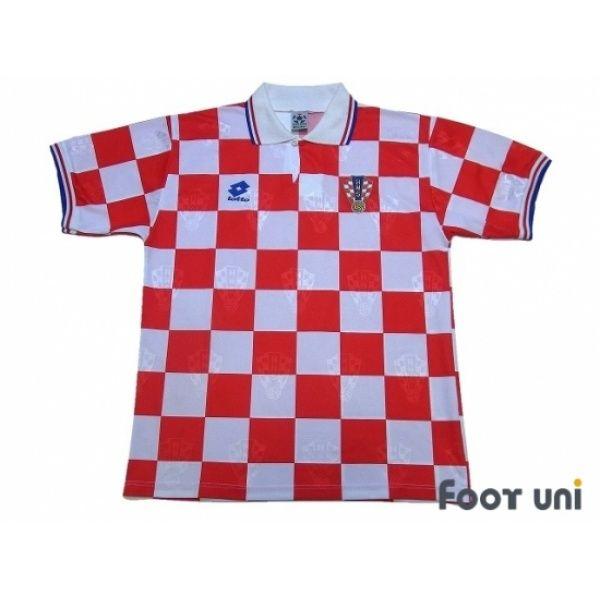 Photo1 Croatia Euro 1996 Home Shirt Football Shirts