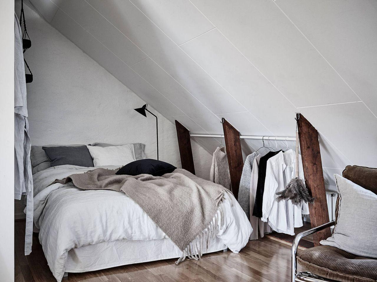Dreamy Scandinavian attic studio | Home_Decor Scandinavian ...
