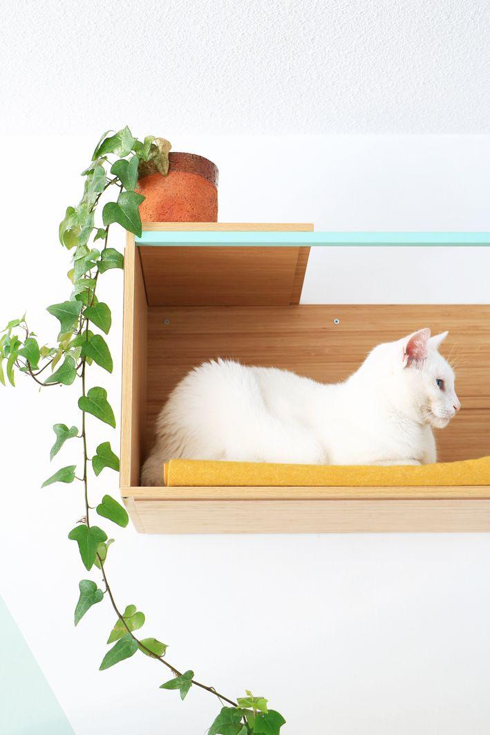 ikea hack for cats a new hangout spot pinterest katzenm bel katzen und hochbett selber bauen. Black Bedroom Furniture Sets. Home Design Ideas