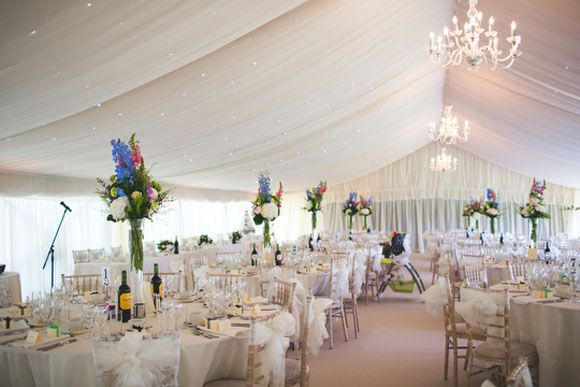 The Colourful Flowers Really Stand Out At This Reception Sheffield Wedding Photography