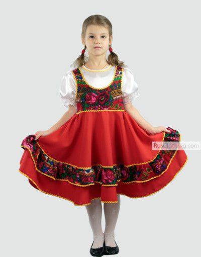 7e276a15f Russian costume ''Malinka ''for folk dancing in 2019 | Costumes for ...