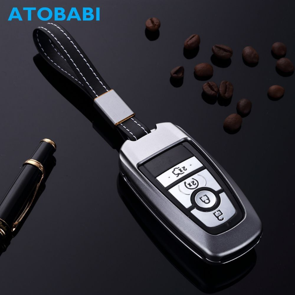Aluminum Alloy Car Key Case Keyless Entry Remote Shell Cover Holder Keychain Accessories For Ford Fusion Mondeo Edge Expedition Review Ford Fusion Key Case Aluminium Alloy