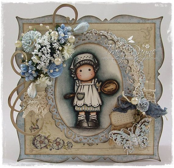 OOAK Tilda with Wooden Spoon by Crafteezee on Etsy, £14.00
