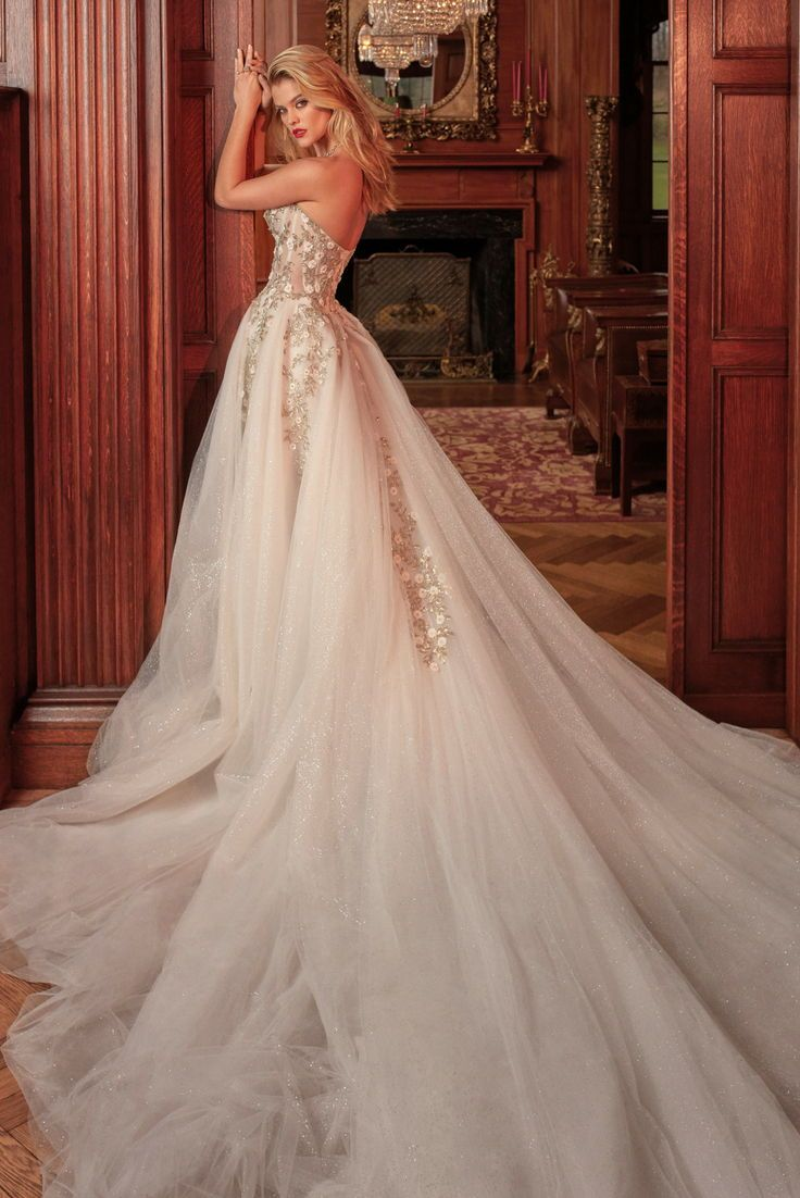 For a ballgown with added magic you need to try on galia lahavus