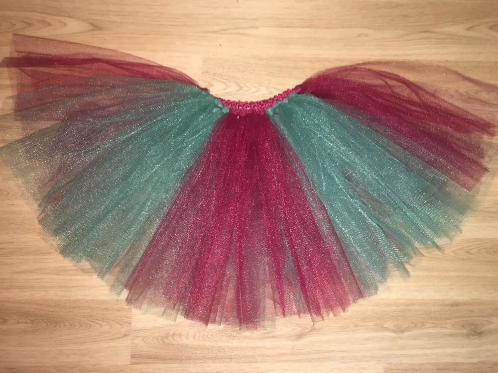 Handmade Pink glitter Tutu Skirt All Ages From 0-10 Years