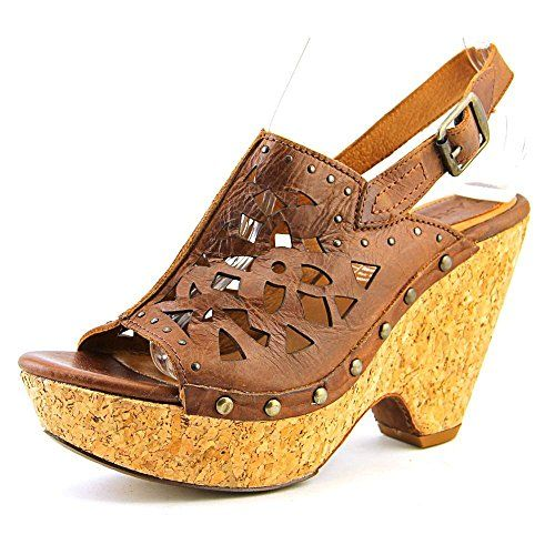 Amazon.com | Ariat Women's Fortune Sandal, Black Olive, 9 M US | Platforms  & Wedges