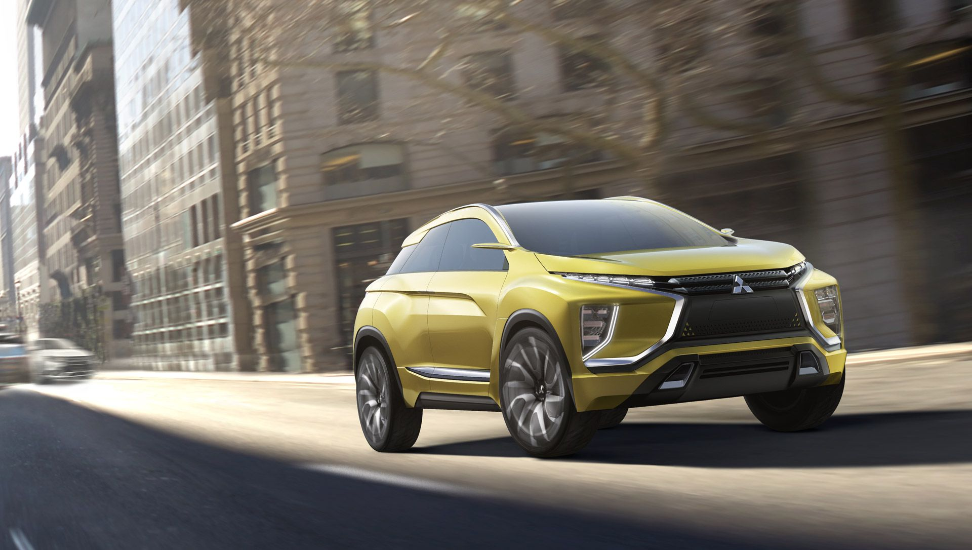 Mitsubishi eX AllElectric SUV Concept To Debut At Tokyo