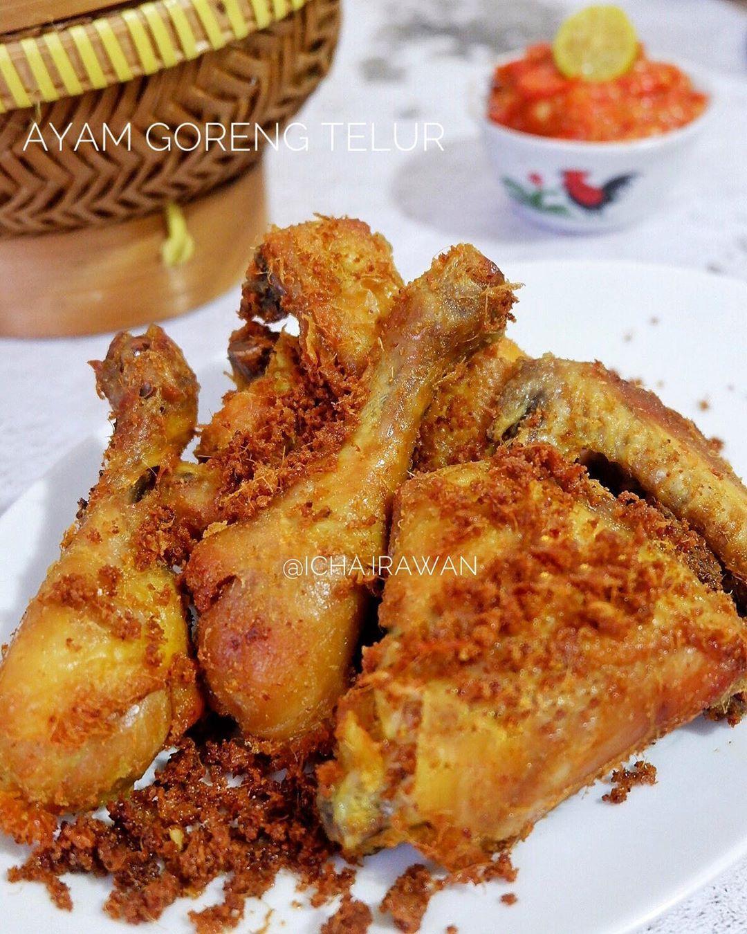 Icha Irawan Di Instagram Bismillah Nahh Ini Dia Resepnya Moms Si Ayam Goreng Telur Yg Menjadi Favourit Dikeluarga Kami Resep Turun Ayam Goreng Resep Ayam
