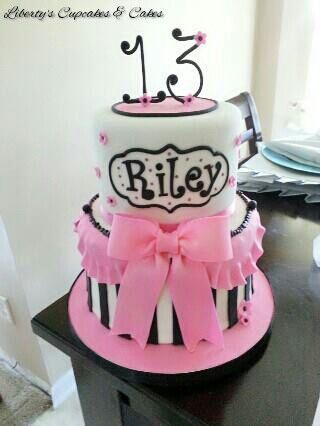 Sweet 13 Birthday Cake httpswwwfacebookcom