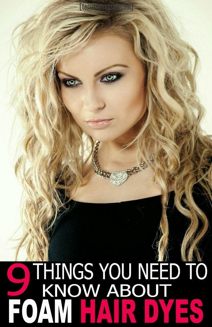 Wondering How To Best Use Or Apply Foam Hair Dye Actually