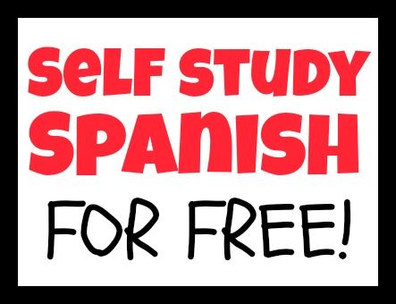 Self Study a Language - Learn Spanish Using Free Online Resources #learningspanish