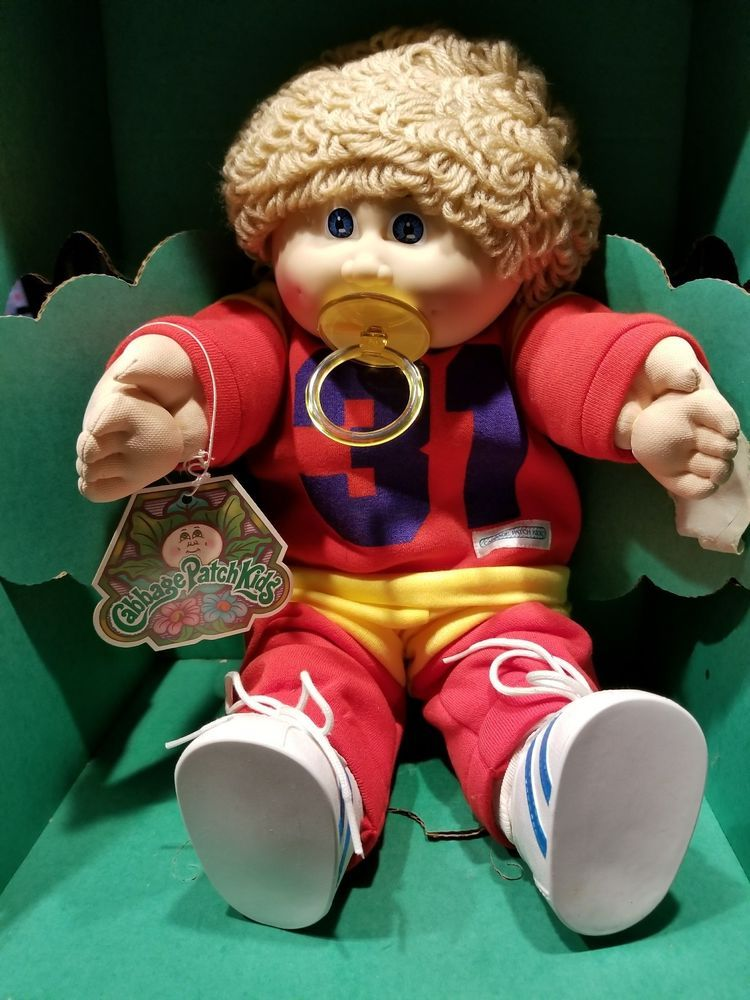 Cabbage Patch 1985 Doll No 3900 Sport Outfit 31 Doll Brand New Cabbage Patch Babies Cabbage Patch Cabbage Patch Kids Dolls