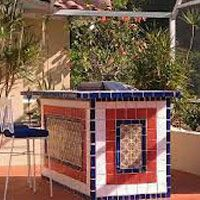 outdoor wall murals with mexican tile | Use Mexican Tile in an ... on mexican family kitchen, mexican kitchen paint, mexican kitchen countertops, mexican outdoor lights, mexican outdoor cooking, hexagon tile in kitchen, mexican deck, mexican outdoor cafe, mexican outdoor stoves, mexican fire features, mexican kitchen decor, mexican outdoor patio, mexican outdoor landscape, bright colors mexican kitchen, mexican outdoor chairs, mexican outdoor decor, mexican outdoor marketplace, mexican adobe house kitchen, mexican outdoor shower, mexican barn,