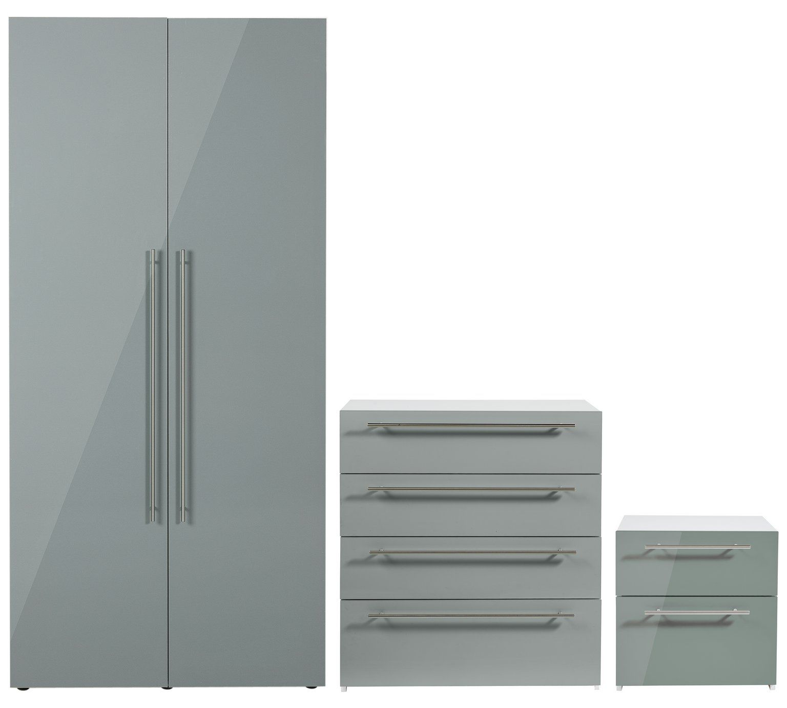 argos bedroom furniture. Buy Hygena Atlas 3 Piece Bedroom Furniture Package - Grey Gloss At Argos.co. Argos O