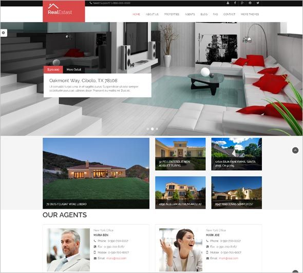 Amazing Free Corporate Drupal Themes & Website Themes at $5 only