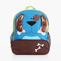 Vizon Children's New Style Hot Sale Cute Dog Cartoon Lovely Canvas Brand School Bags/Backpacks | LightInTheBox