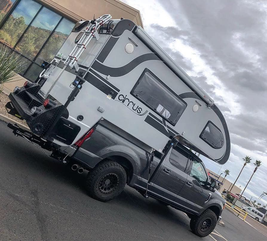 Image May Contain Sky And Outdoor Truck Storage Camper Towing