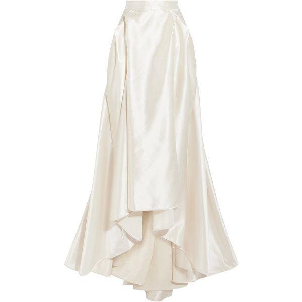 Halfpenny London Georgie Pleated Satin Maxi Skirt 1 145