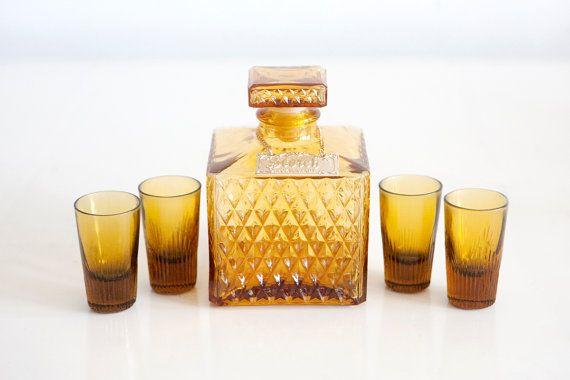 vintage gin decanter