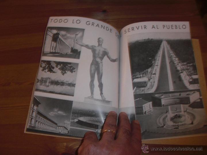 ALEMANIA EN SUS INSTITUCIONES SOCIALES -ADOLF HITLER- TOTALMENTE ILUSTRADO ED. ORBIS BARCELONA 1940 - Foto 5