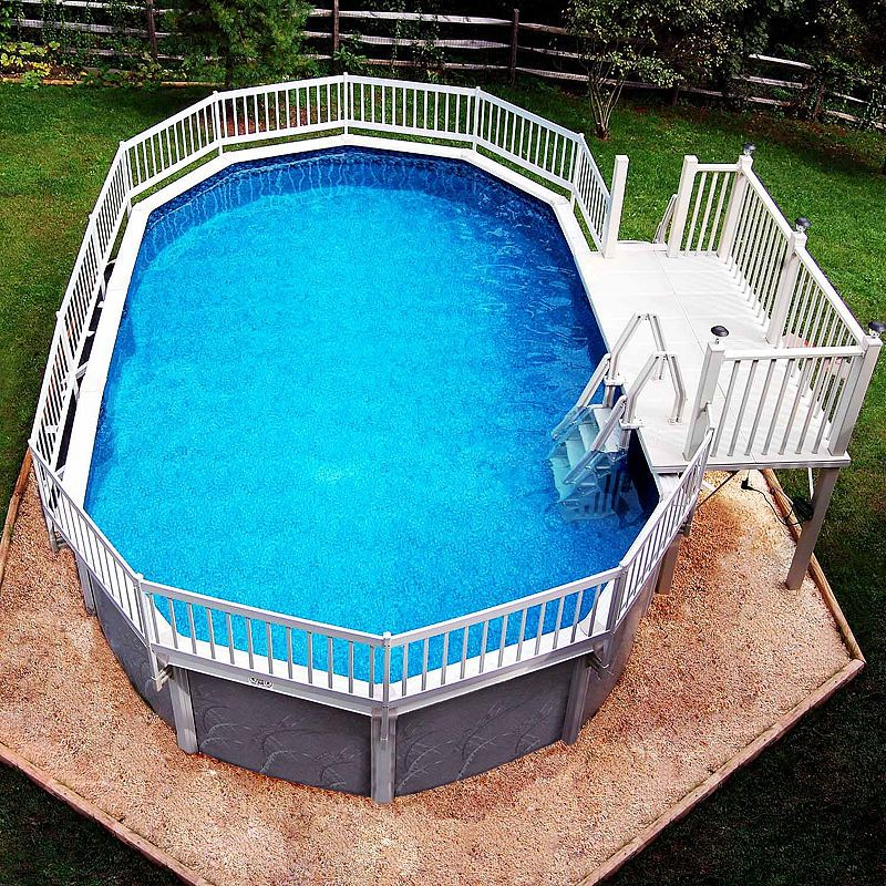 Blue Wave Prime Entry™ In-Pool Step For Above Ground Pools