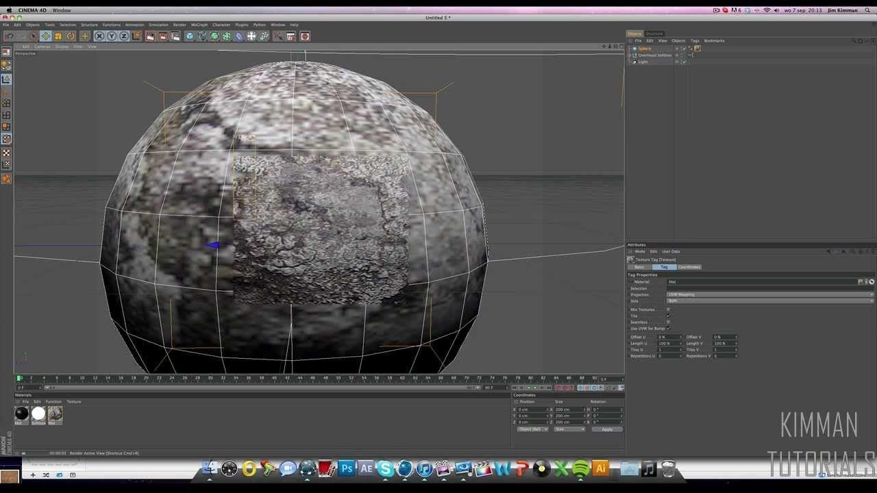 Tutorial Realistic Textures Materials In C4d Cinema 4d Tutorial Cinema 4d Vfx Tutorial