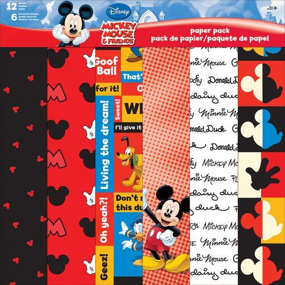 Sandylion Disney Paper Pack Mickey & Friends at Joann.com