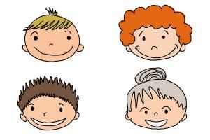How to Draw a Face For Kids   Drawing tutorials for kids ...