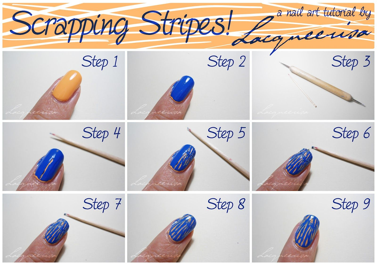 Different Kinds of Blue Nail Arts - Renewed Style | Nails ...