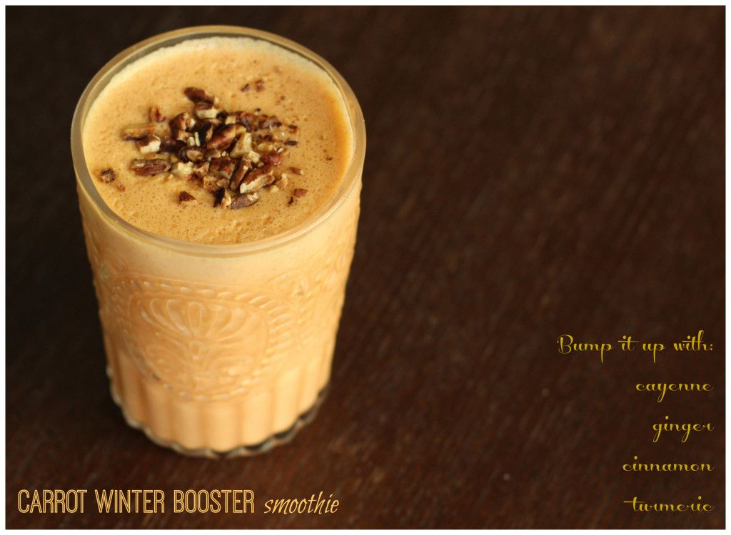 Carrot Winter Booster Smoothie - paleo meal delivery service
