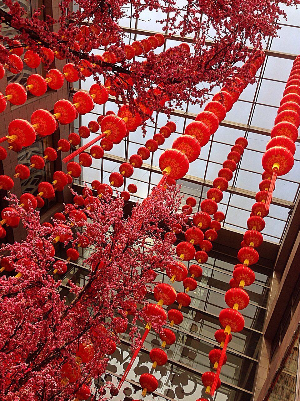 Chinese New Year shopping mall decor. Pavilion, Kuala ...