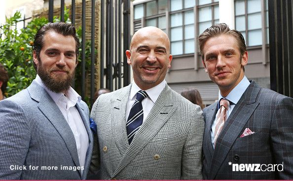 Henry Cavill GQ Style party