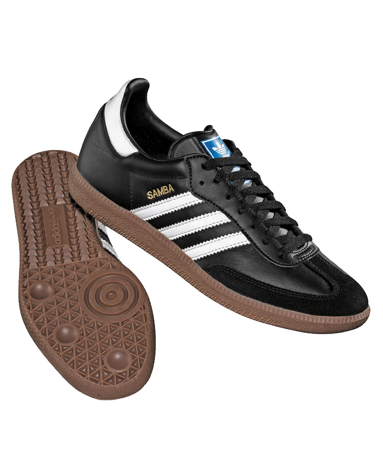 adidas Men\u0027s Originals Leather Samba Sneakers from Finish Line - Sneakers \u0026  Athletic - Men - Macy\u0027s