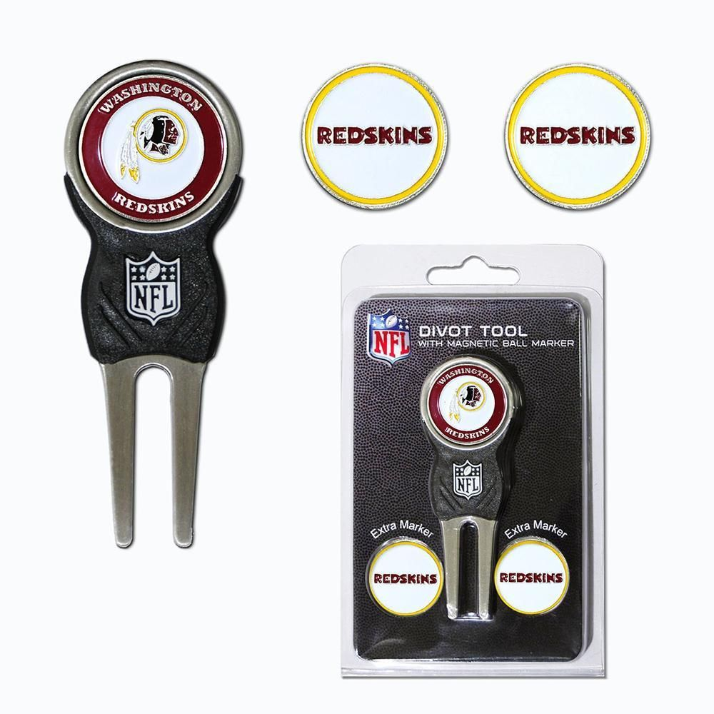 Washington Redskins NFL Divot Tool Pack w/Signature tool