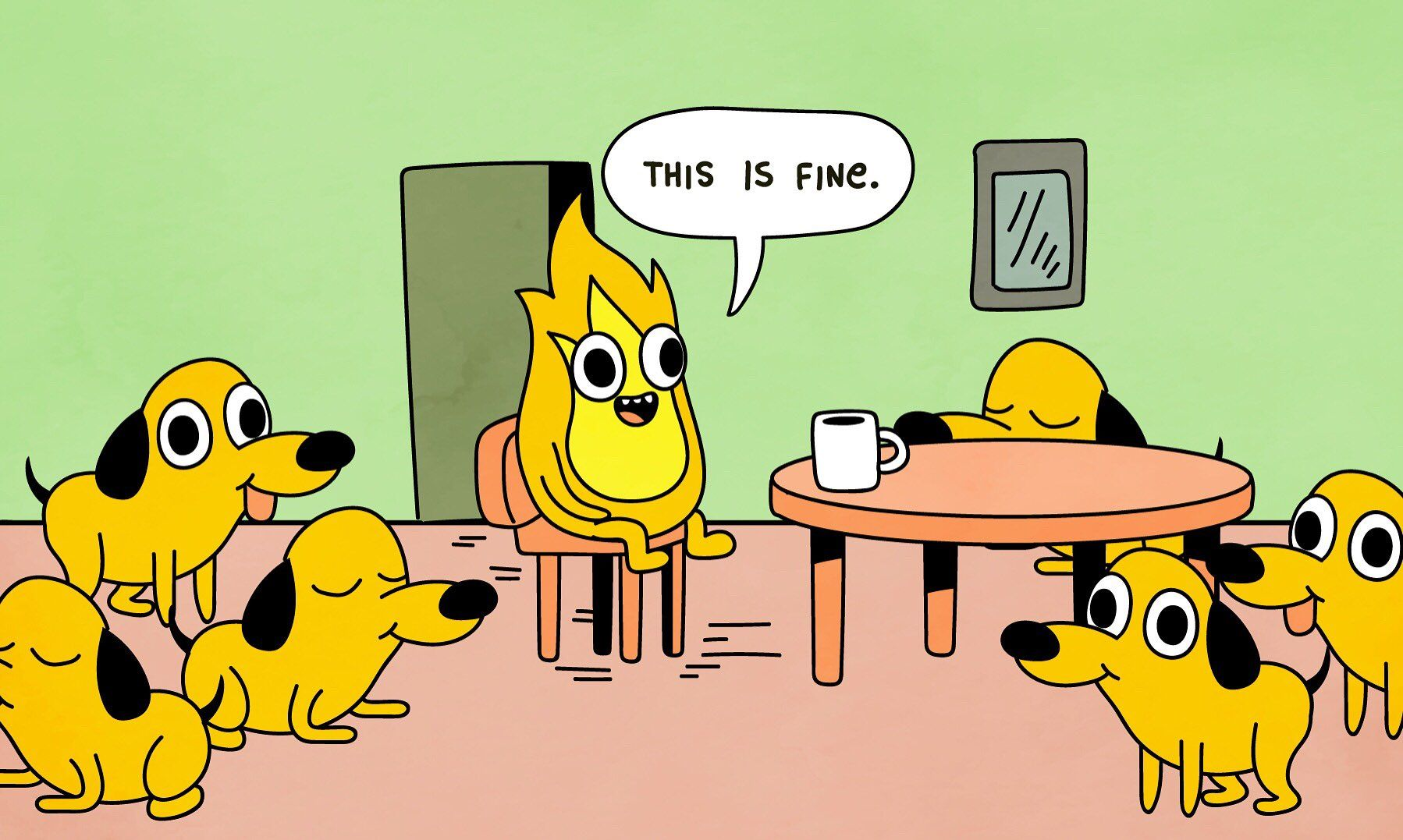 Everything Is Fine Meme Reverse   Funny pictures, Best ...