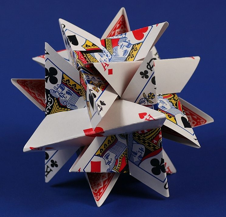 cool looking deck of cards