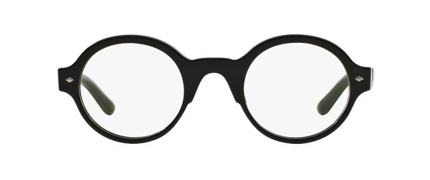 Giorgio Armani Ar7068 5017 Black Round Eyeglasses Round Eyeglasses Giorgio Armani Armani