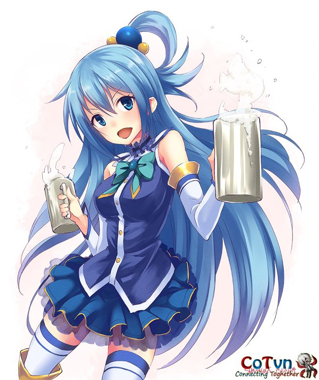 Bộ Sưu Tập Fanart Aqua Cực Chất Anime Konosuba Cotvn Net