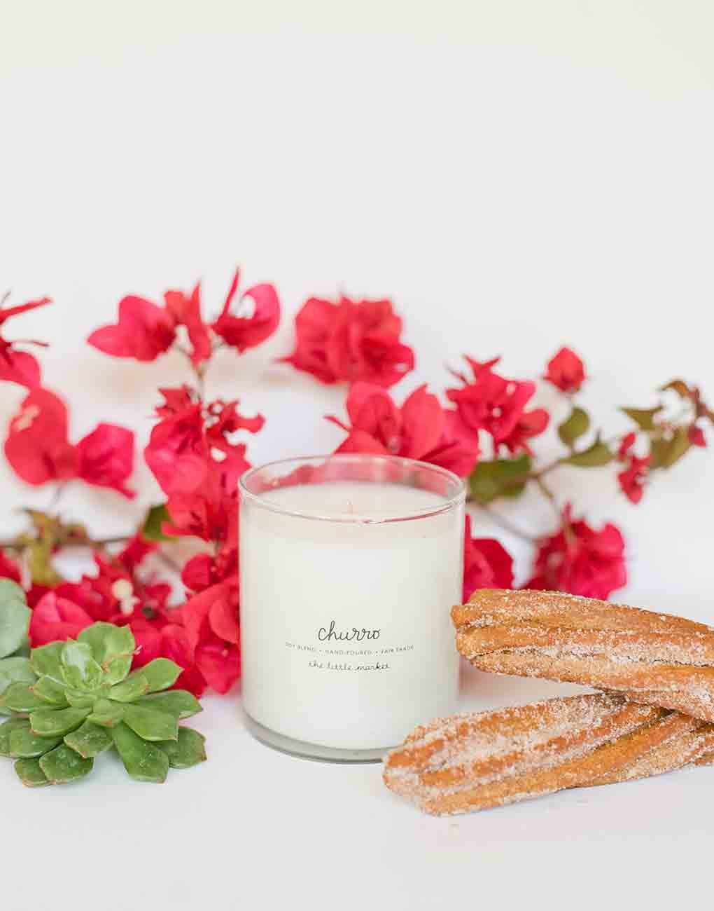 Fair Trade Churro Scented Soy Candle