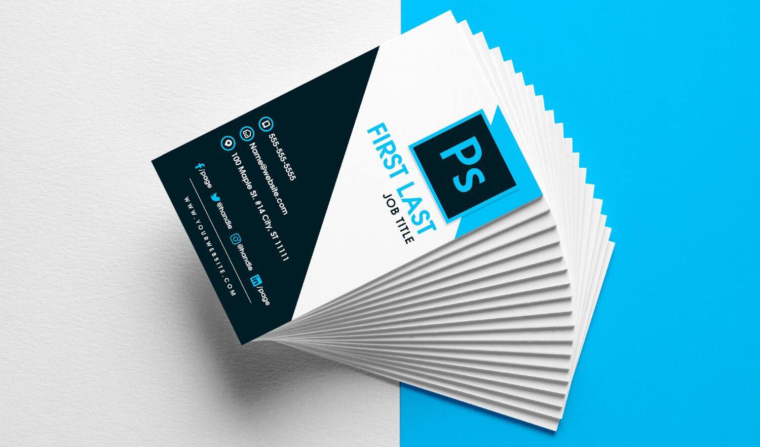 Free Vertical Business Card Template In Psd Format In Psd Name Card Te In 2020 Vertical Business Card Template Business Card Template Photoshop Visiting Card Templates