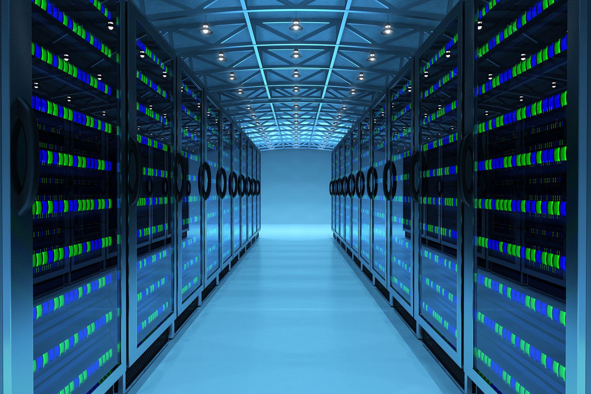 Server Hallway Machines Data Center Sql Server Reporting Services Microsoft Sql Server