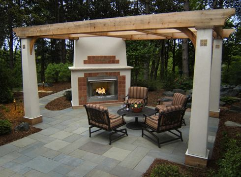 Fireplace Pergola Patio Outdoor Fireplace Patio Outdoor Gas