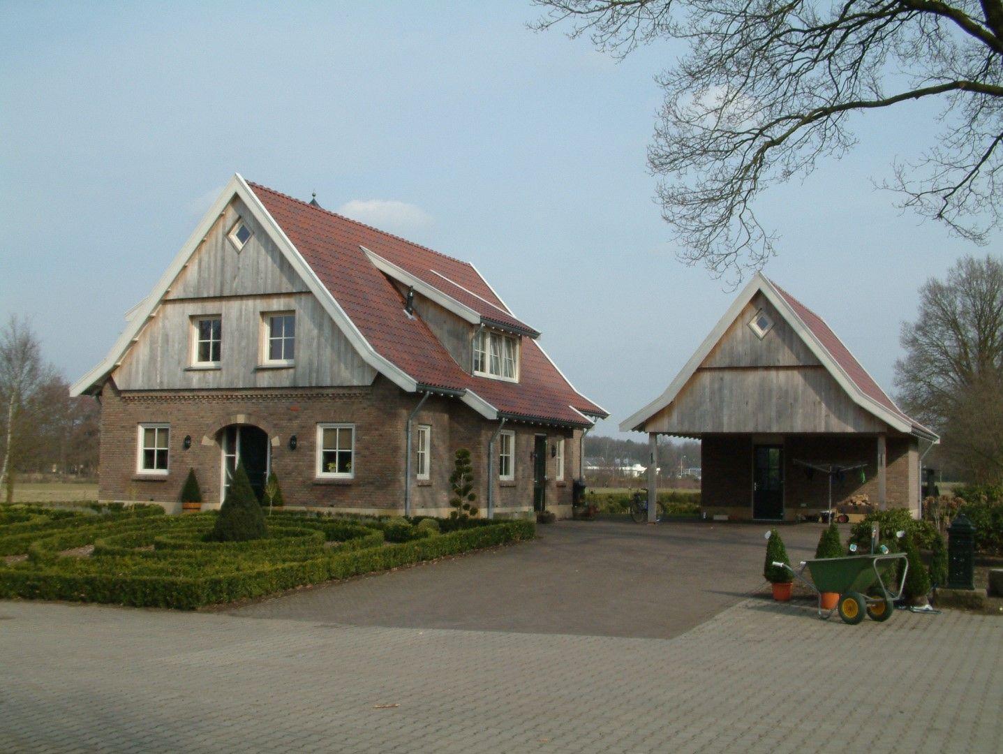 Foto nummer 2 vrijstaande in saksische stijl opgetrokken woning gebouwd in de lutte - Gevels van hedendaagse huizen ...
