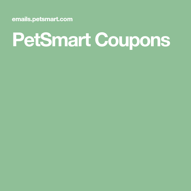 Petsmart Coupons In 2020 Coupons Hidden Valley Recipes