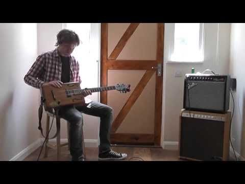 6 String Cigar Box Guitar - Sound Test - YouTube | Cigar Box