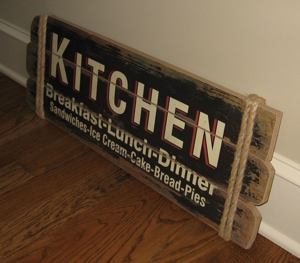 Large Kitchen Wood Wall Sign Primitive French Country Farmhouse Kitchen Deco Country Farmhouse Kitchen Decor Farmhouse Kitchen Decor Country Kitchen Restaurant